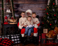 Christmas Keepsake & Santa 2018 Big Piney
